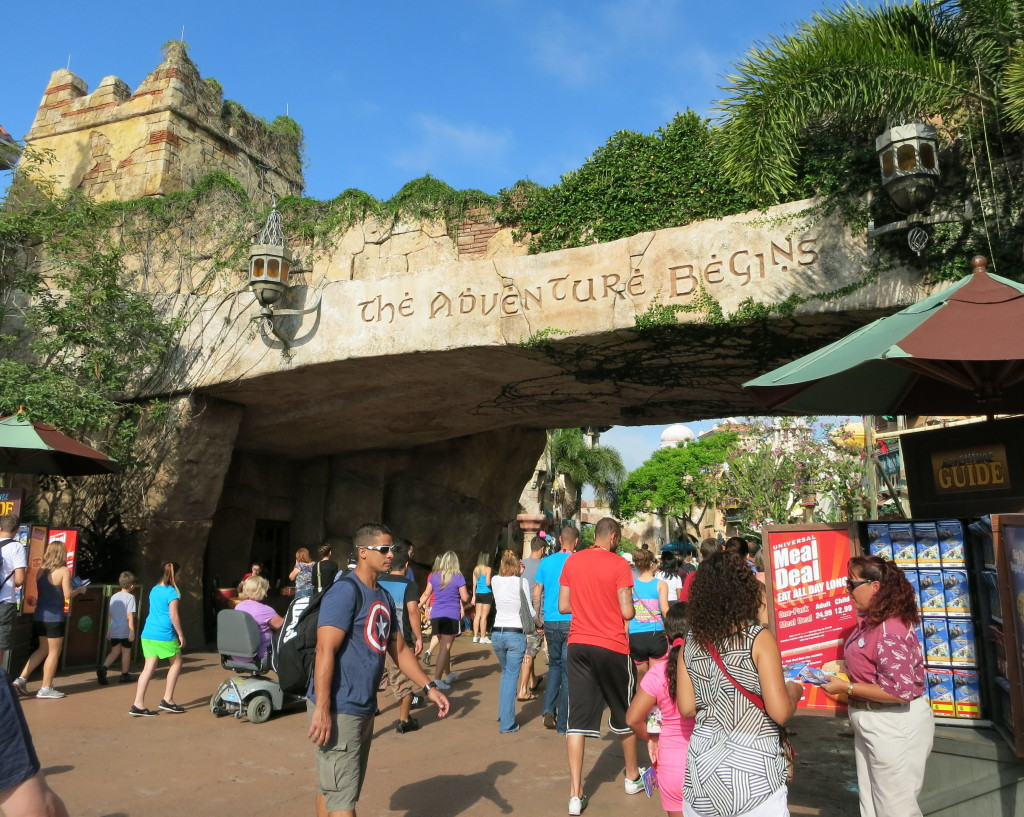 Entrance to Universal Islands of Adventure