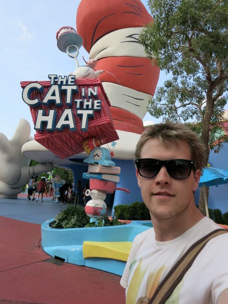 Cat in the Hat ride entrance