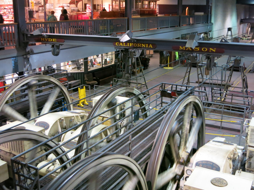 Cable car powerhouse