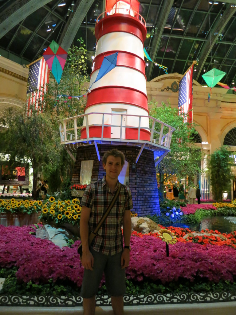 Indoor garden at the Bellagio