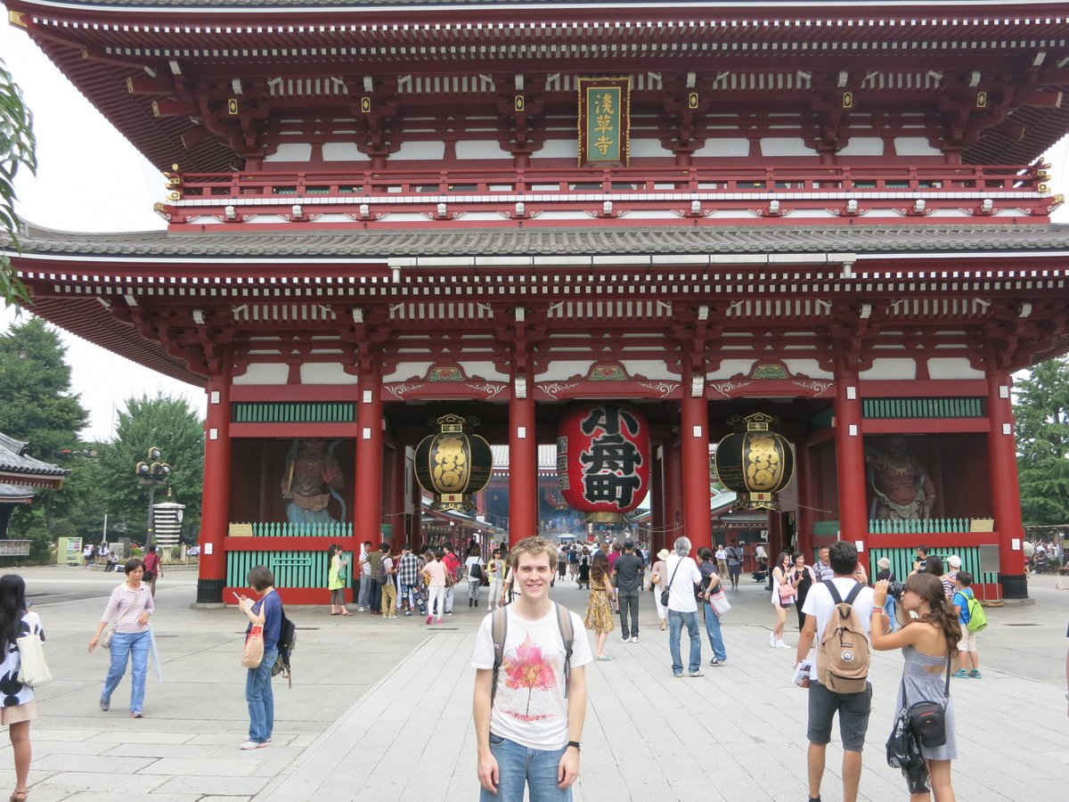 Senso-ji, National Museum and a Japanese cemetery