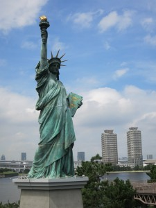Statue of Liberty look alike