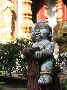 A statue at Wat Bupparam