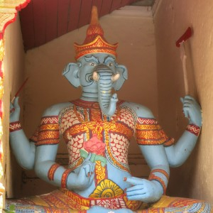 A statue at Doi Suthep