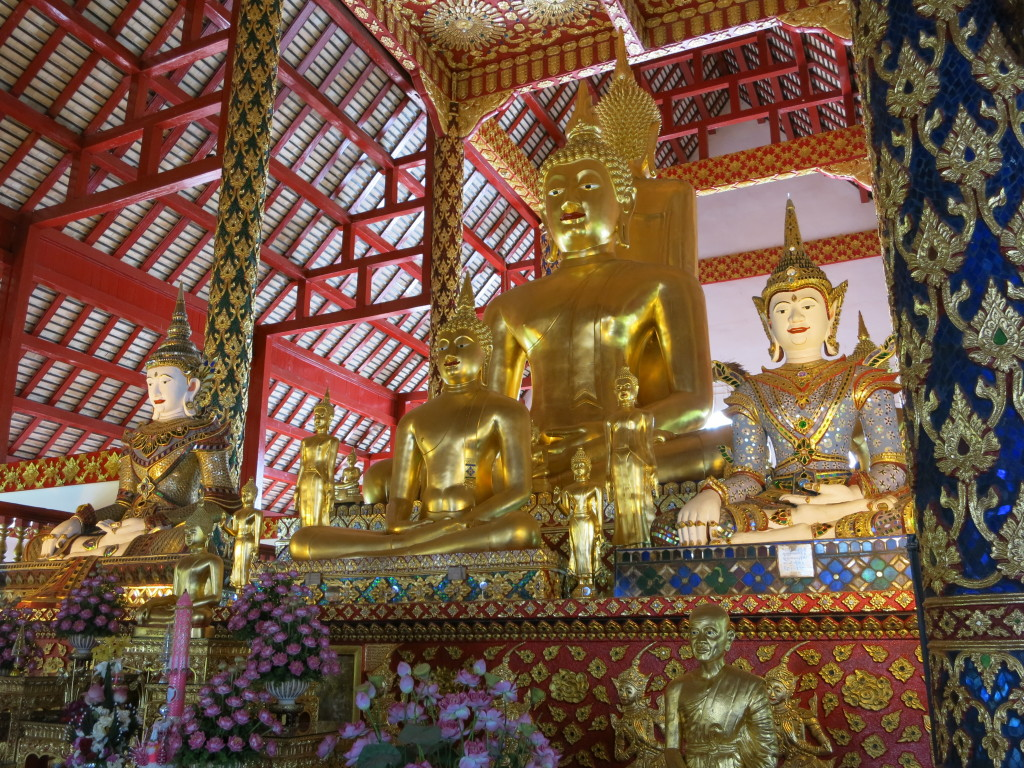 The buddha at Wat Suan Dok
