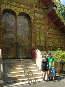 A detour via Wat Saen Fang for a loo stop
