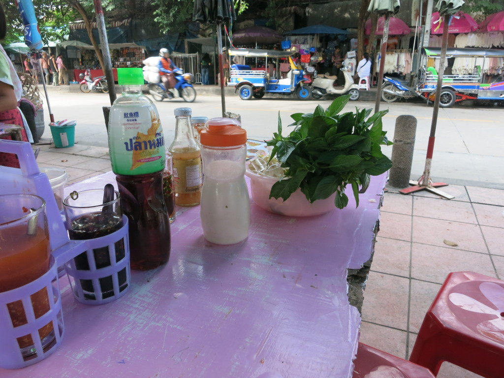 Breakfast at Chatuchak market