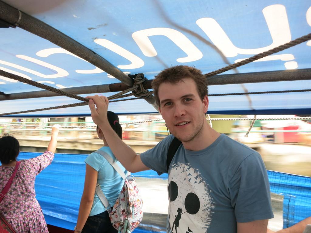 Cruising along the canal