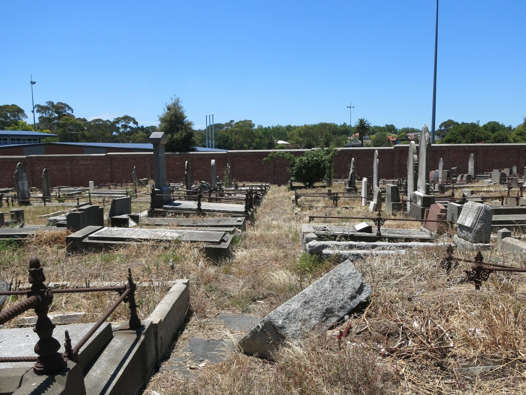 The Boroondara Cemetery in Kew