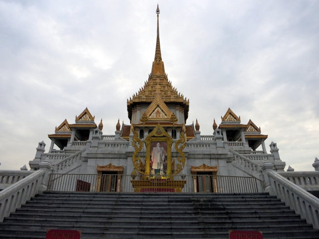 Wat Traimit, home of the Golden Buddha