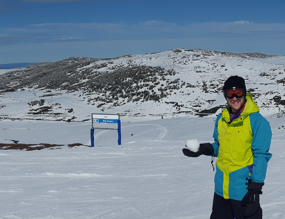Skiing at Falls Creek
